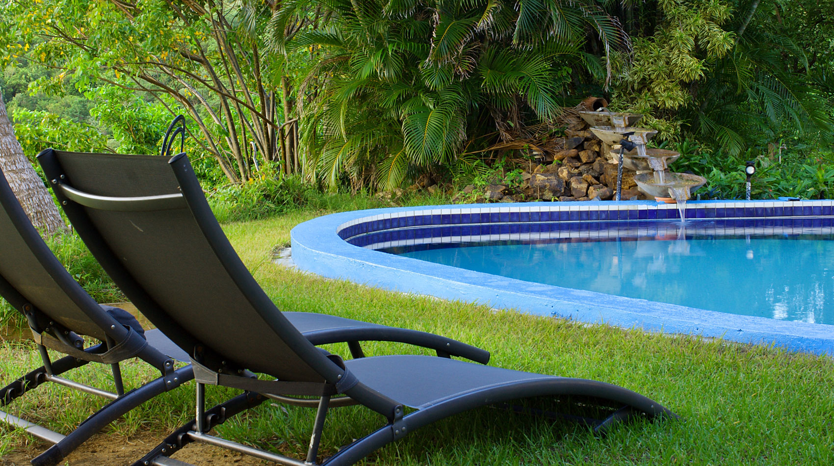 Relax by the pool at Hilltop Culebra